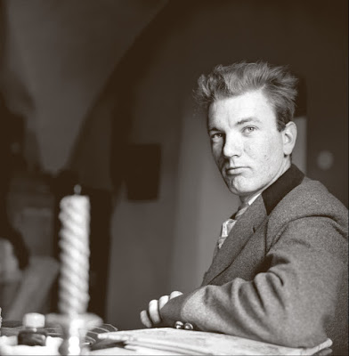 Thomas Bernhard photographed in 1957. Photograph Helmut Baar Getty Images